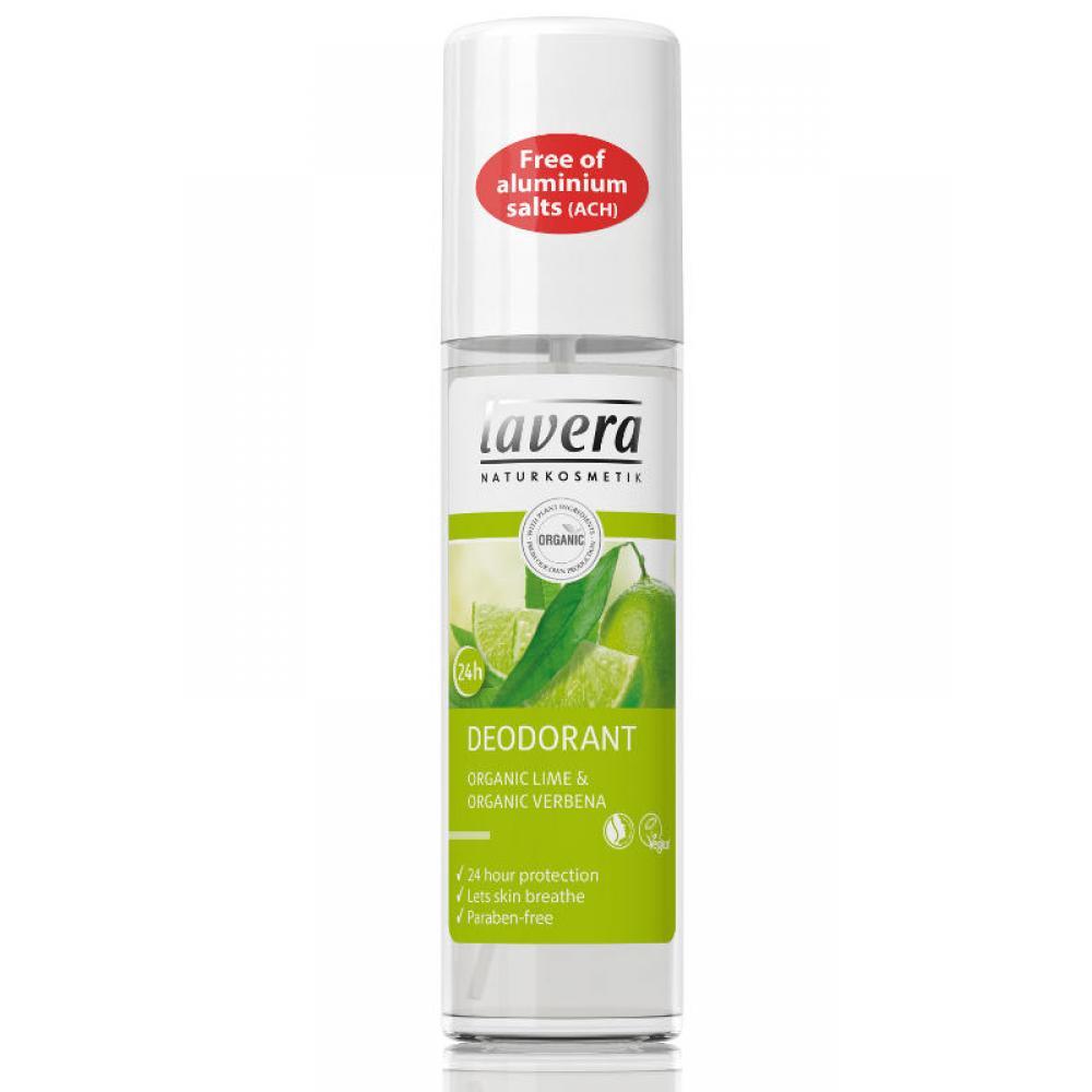 LAVERA Body Spa deodorant sprej Verbena&Limetka 75 ml