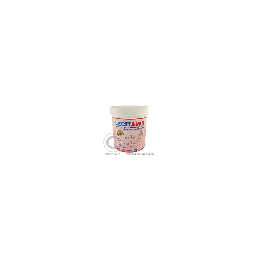 Lecitamin-lecitino-proteinový nápoj 250 g jahoda