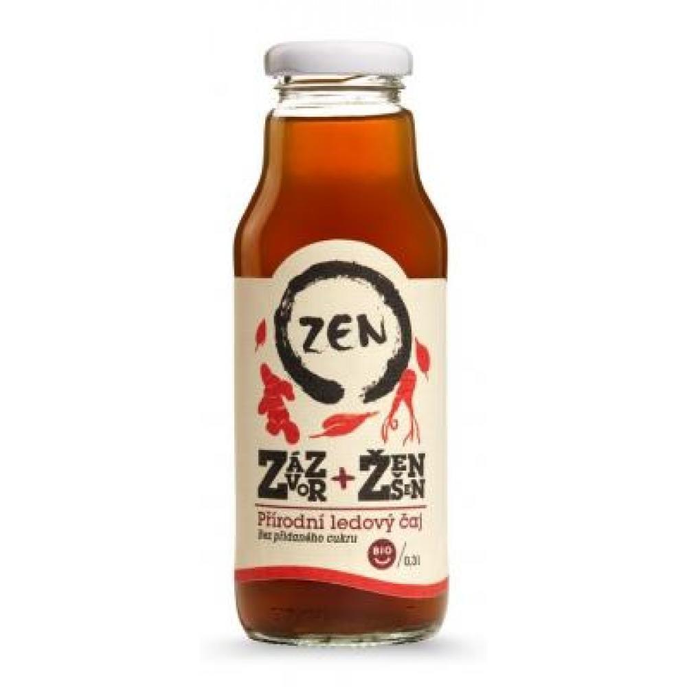 Koldokol Ledový čaj Zen zázvor a ženšen Bio 0,3l