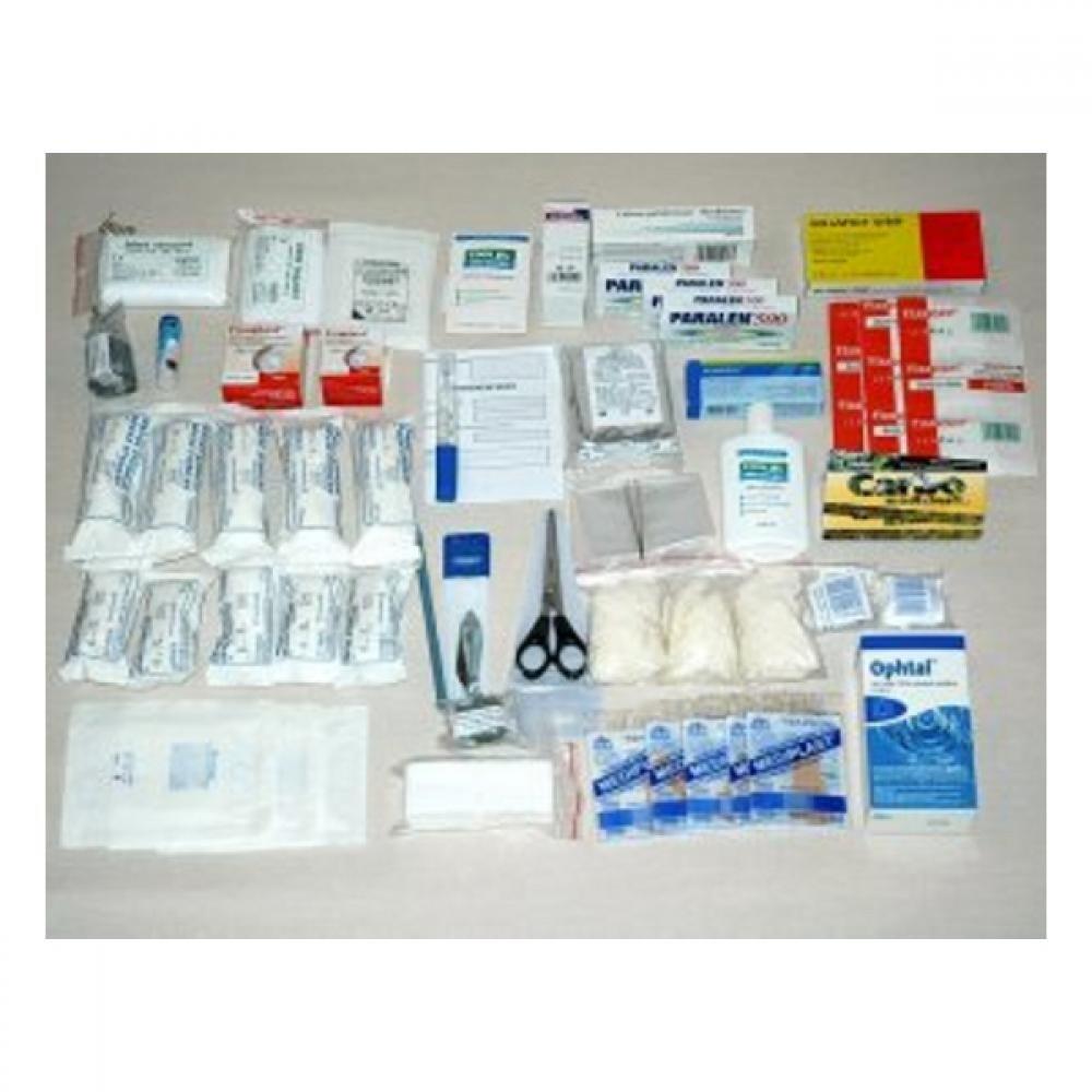 Lékárnička-náplň do brašny malé-zdrav.mat.10 osob