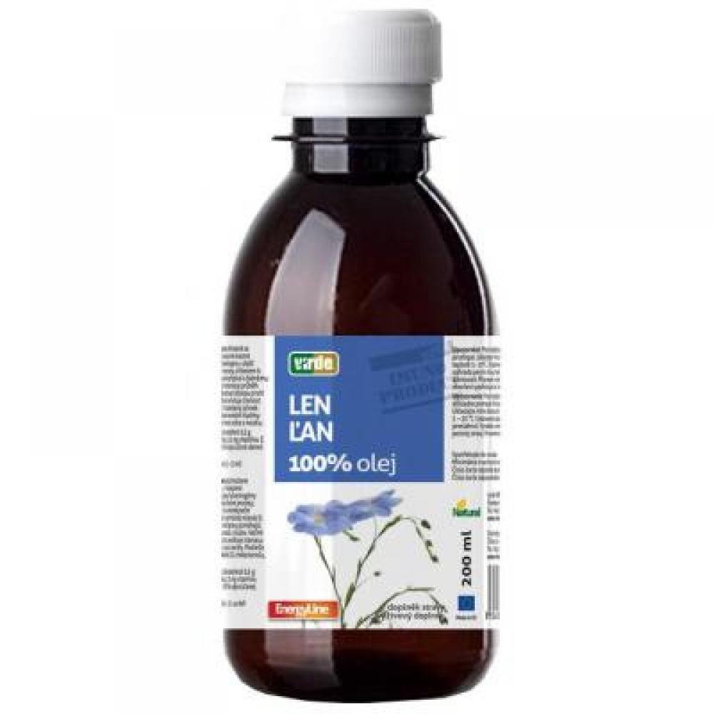 VIRDE Lněný 100% olej 200 ml