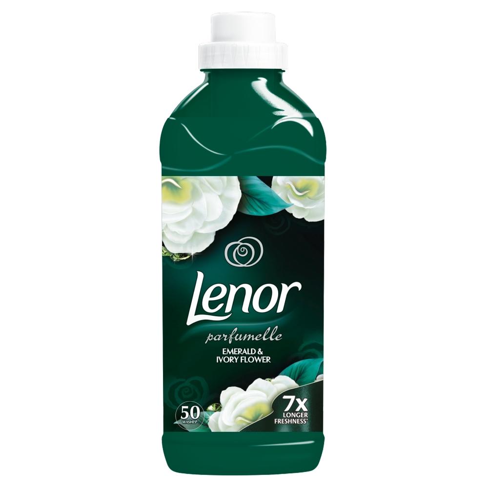LENOR Emerald&Ivory Flower Aviváž 1,5 l 50 Praní