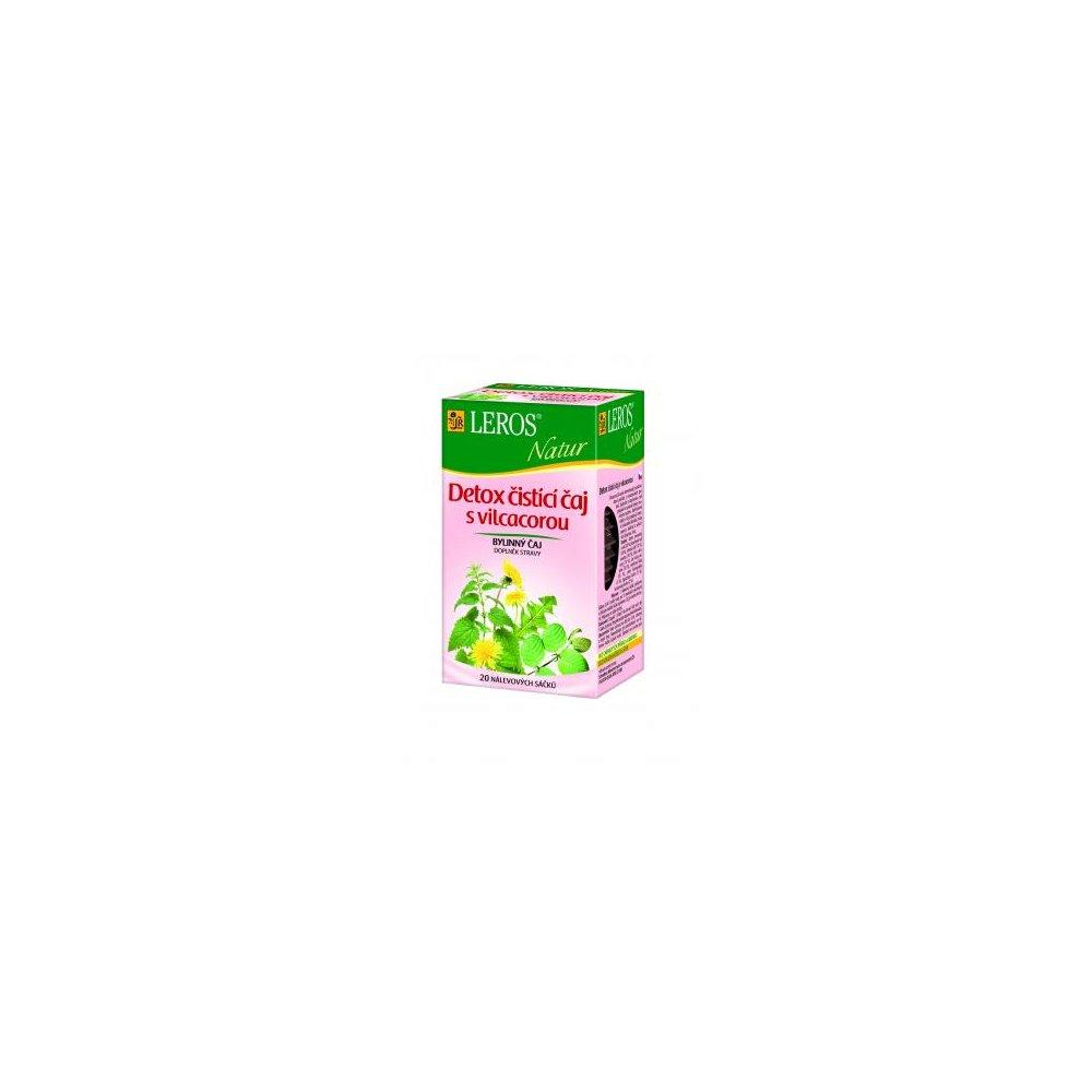 LEROS Natur Detox čistící čaj s vilcacorou 20x1,5 g