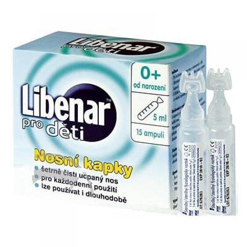 LIBENAR Libenar pro děti 15 ampulí po 5ml