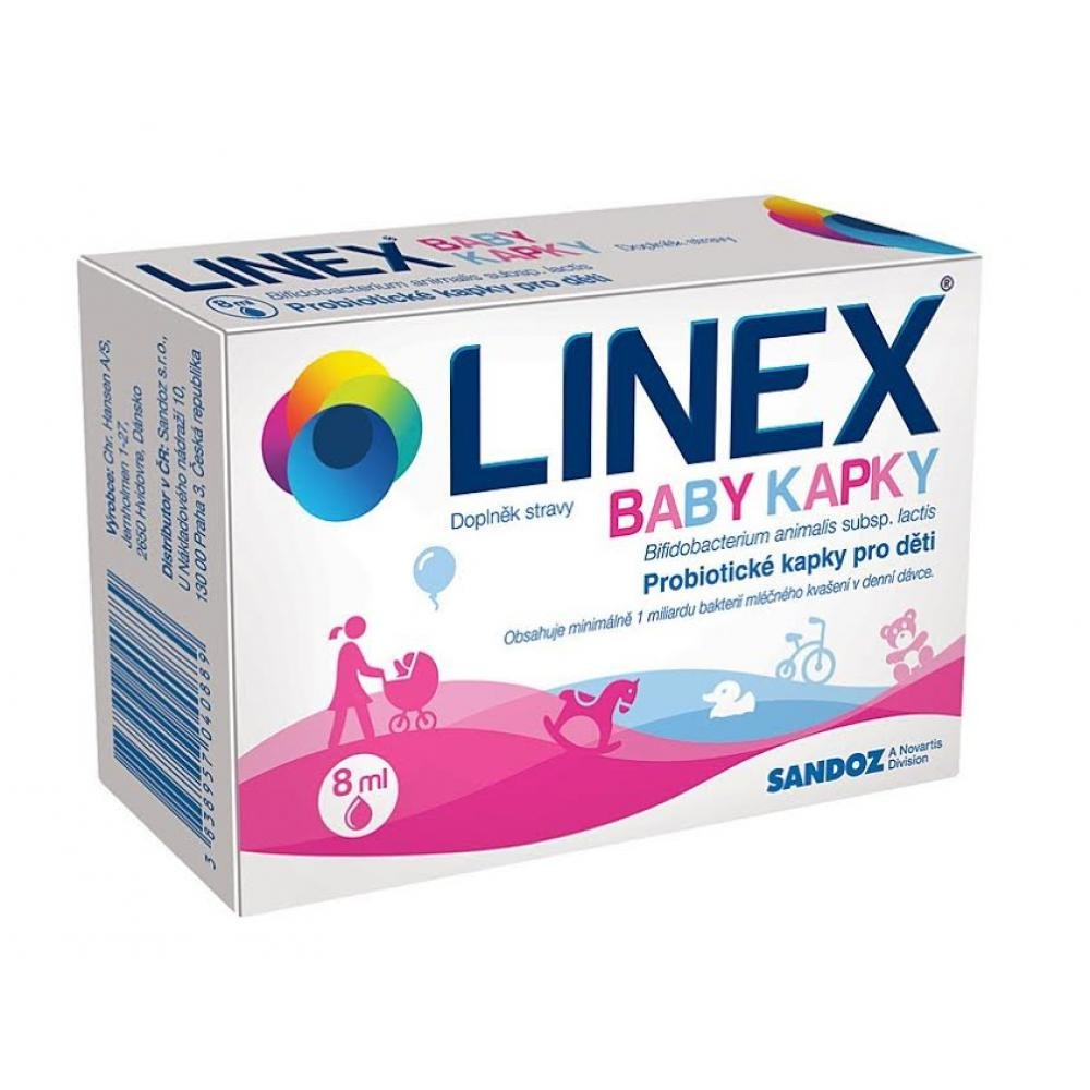 LINEX Baby kapky por.gtt.sol. 1x8ml