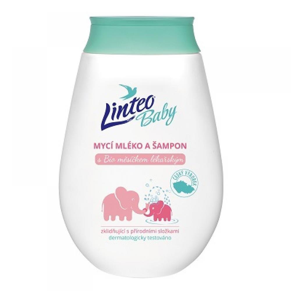 Linteo Baby mycí mléko a šampon 250ml