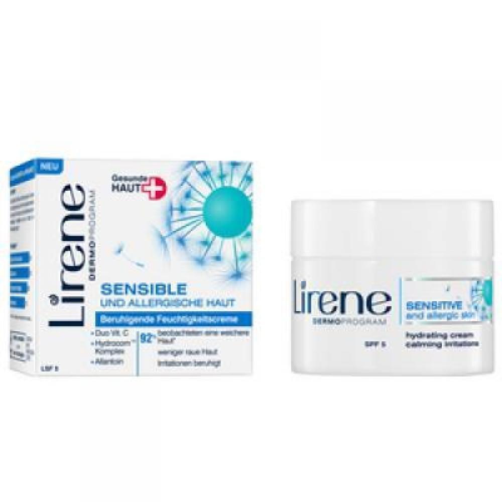 LIRENE HS+ Citlivá a alergická pleť krém 50 ml