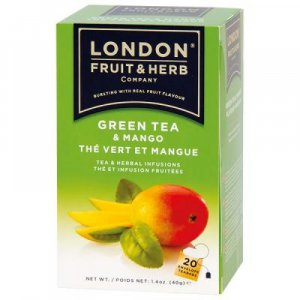 LONDON FRUIT & HERB Zelený čaj s mangem 20x2 g