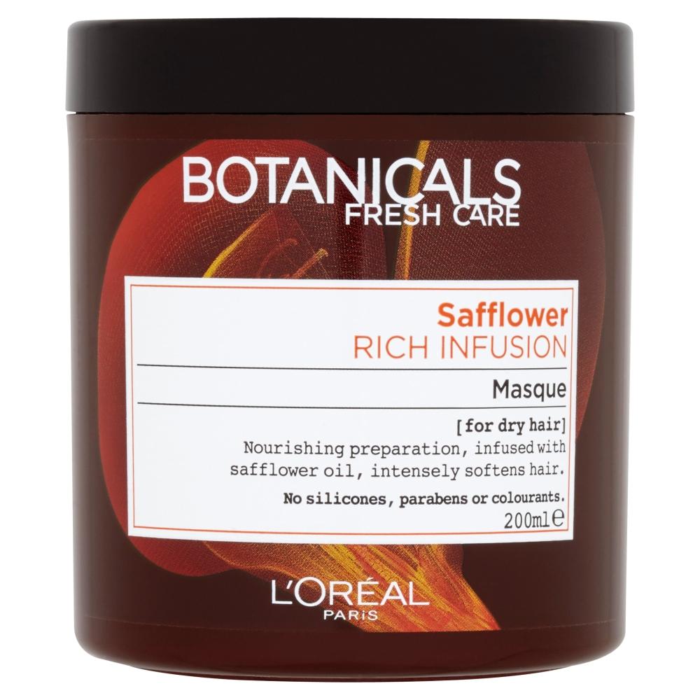BOTANICALS Safflower maska na vlasy 200 ml