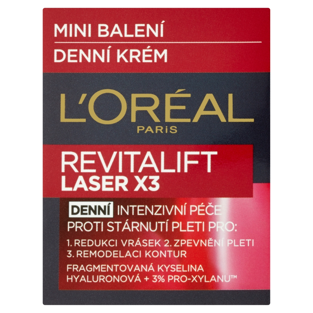 L´OREAL Revitalift Laser X3 denní krém Mini balení 15 ml
