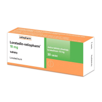 LORATADIN-RATIOPHARM 10 MG  30 tablet