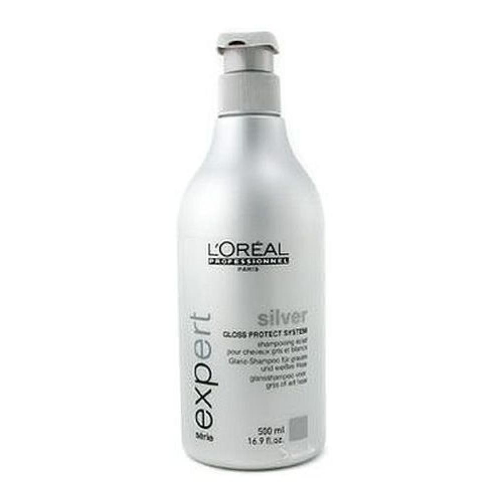 L´Oreal Paris Expert Silver 500ml Šampon pro oživení bílých a šedivých vlasů
