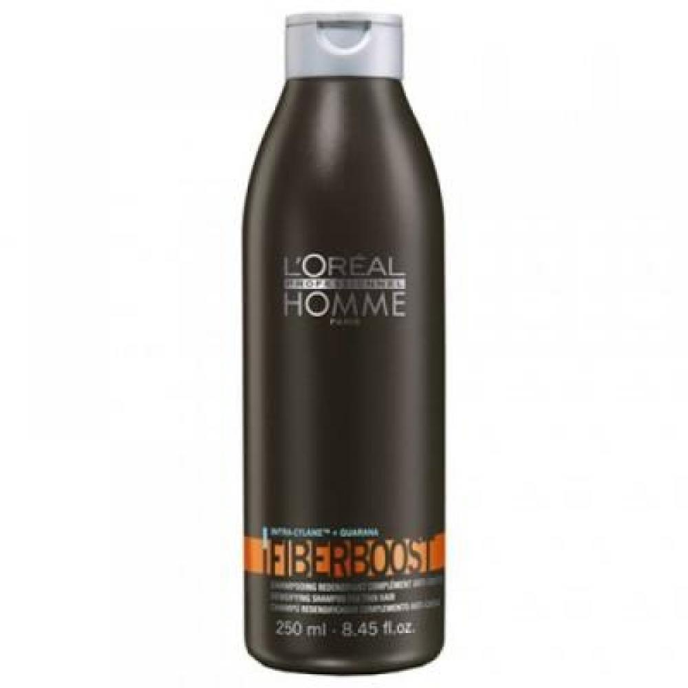 L'ORÉAL Homme Fiberboost šampon pro řídnoucí vlasy 250 ml