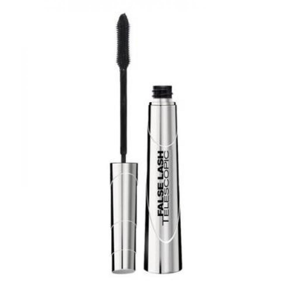 L'ORÉAL Mascara False Lash Telescopic řasenka Magnetic Black 9 ml