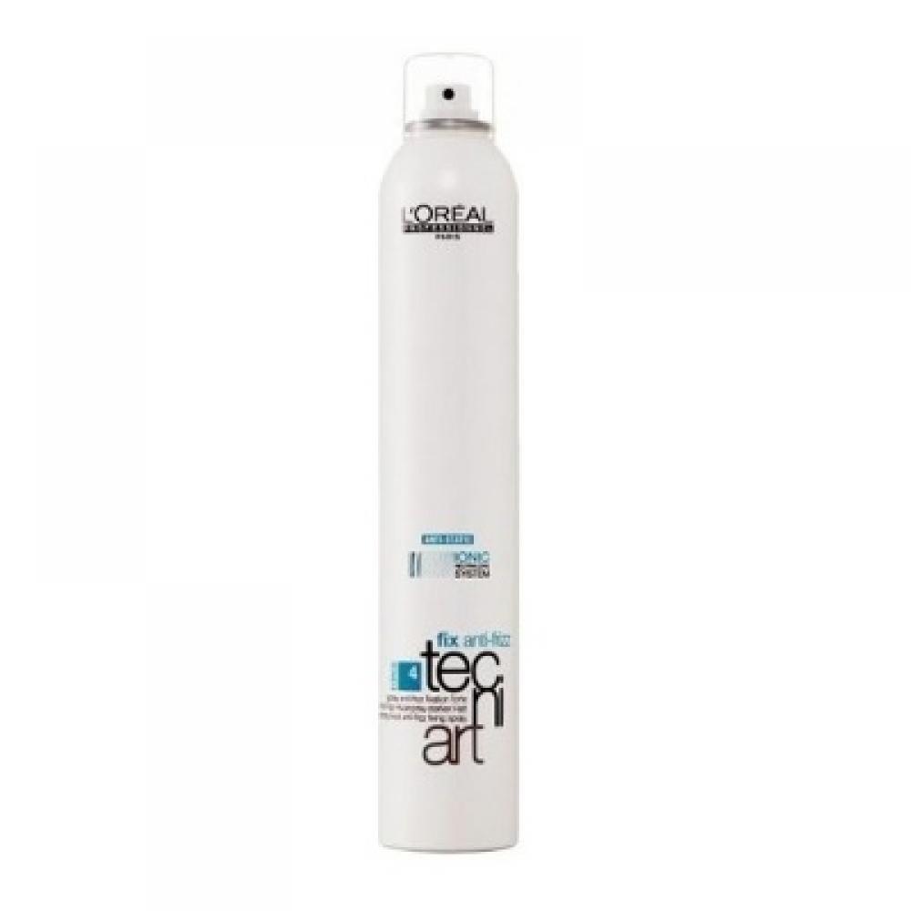 L'ORÉAL Tecni Art Fix Anti-Frizz fixační sprej s ochranou proti vlhkosti 400 ml