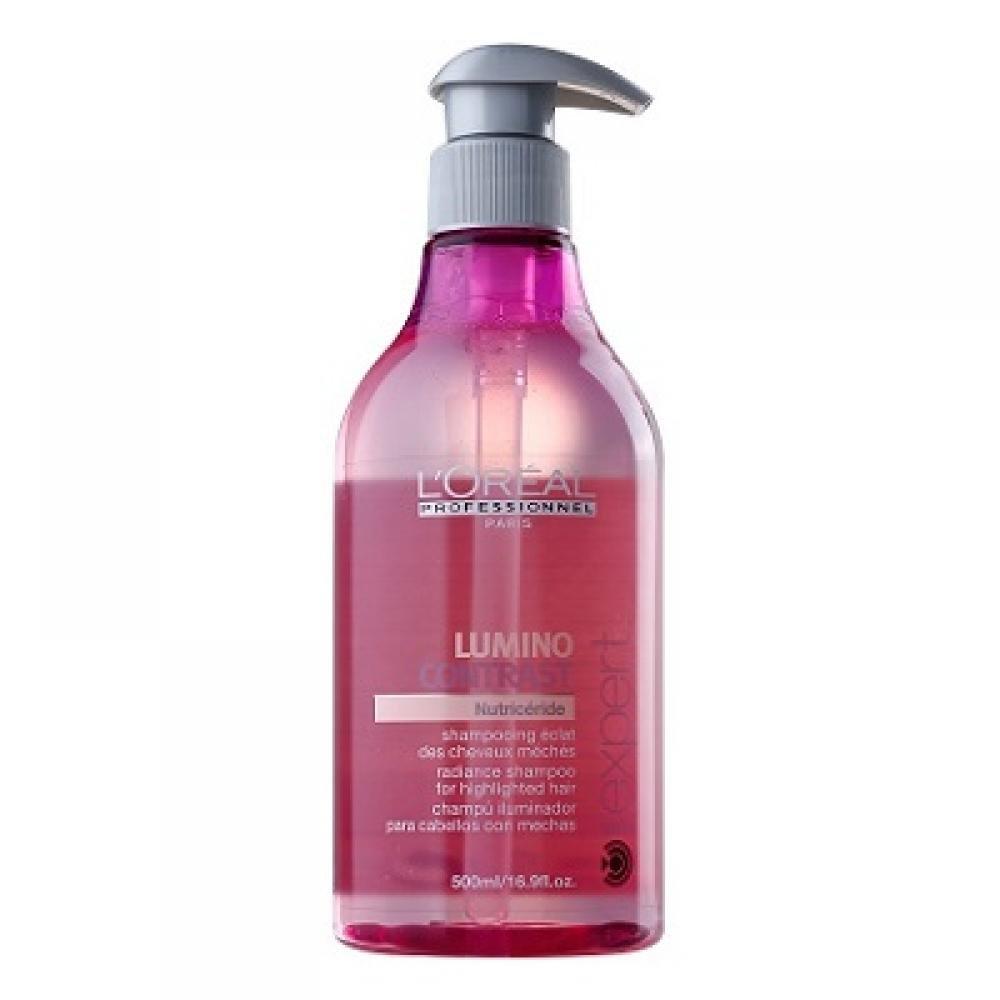 L'ORÉAL Expert Lumino Contrast šampon pro melírované vlasy 500 ml