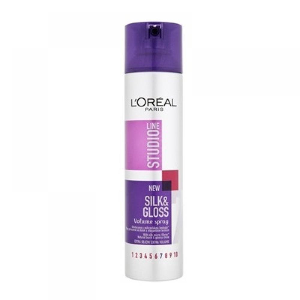 LOREAL STL Silk&Gloss Volume lak 250ml
