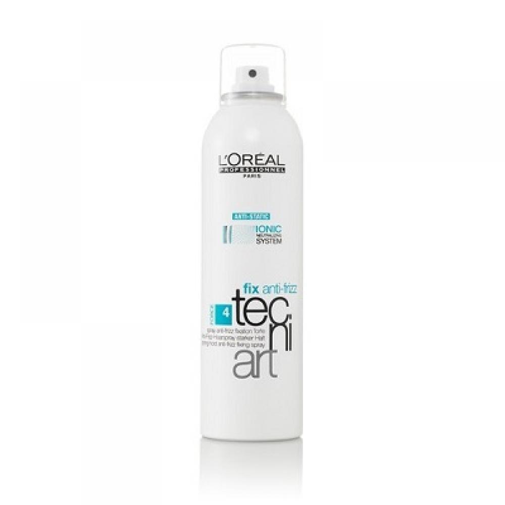 L'ORÉAL Tecni Art Fix Anti-Frizz fixační sprej s ochranou proti vlhkosti 250 ml