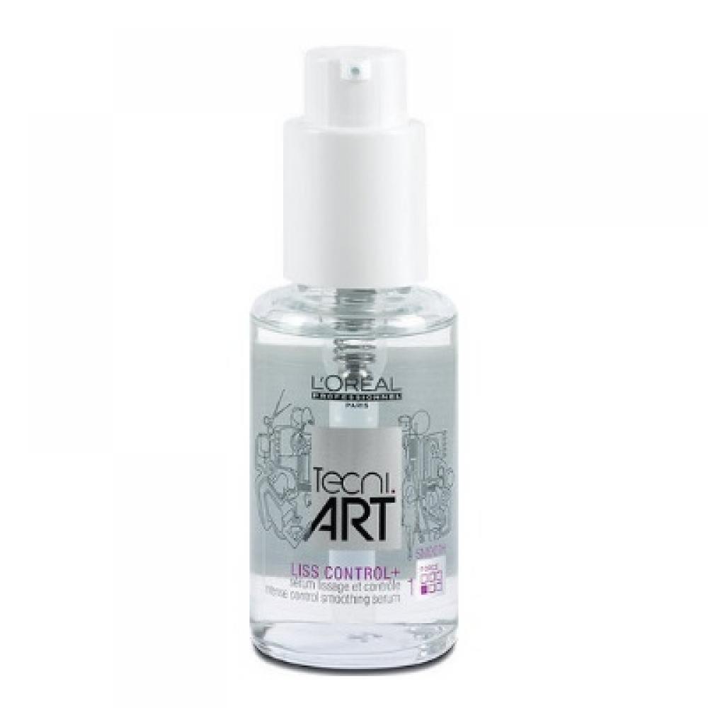 L'ORÉAL Tecni Art Liss Control+ intenzivní sérum pro uhlazení vlasů 50 ml