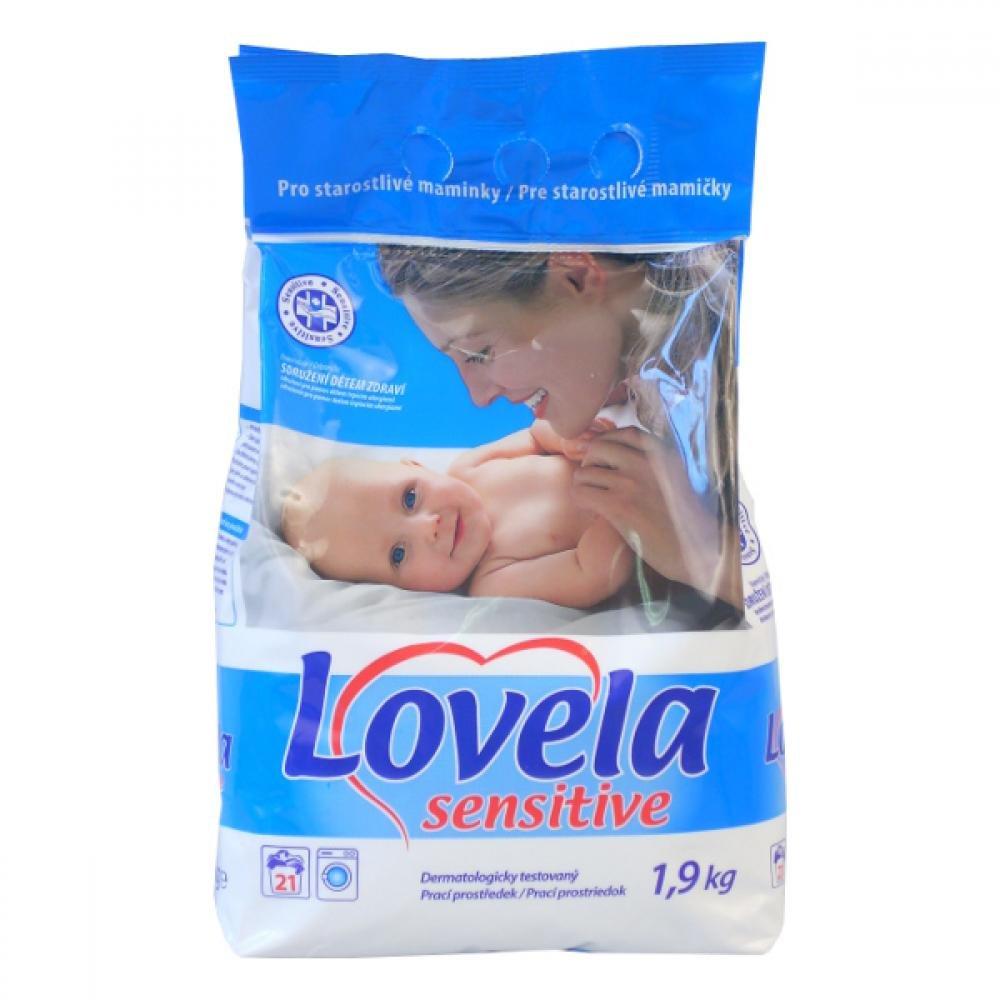 LOVELA Sensitive prací prášek 1,9 kg