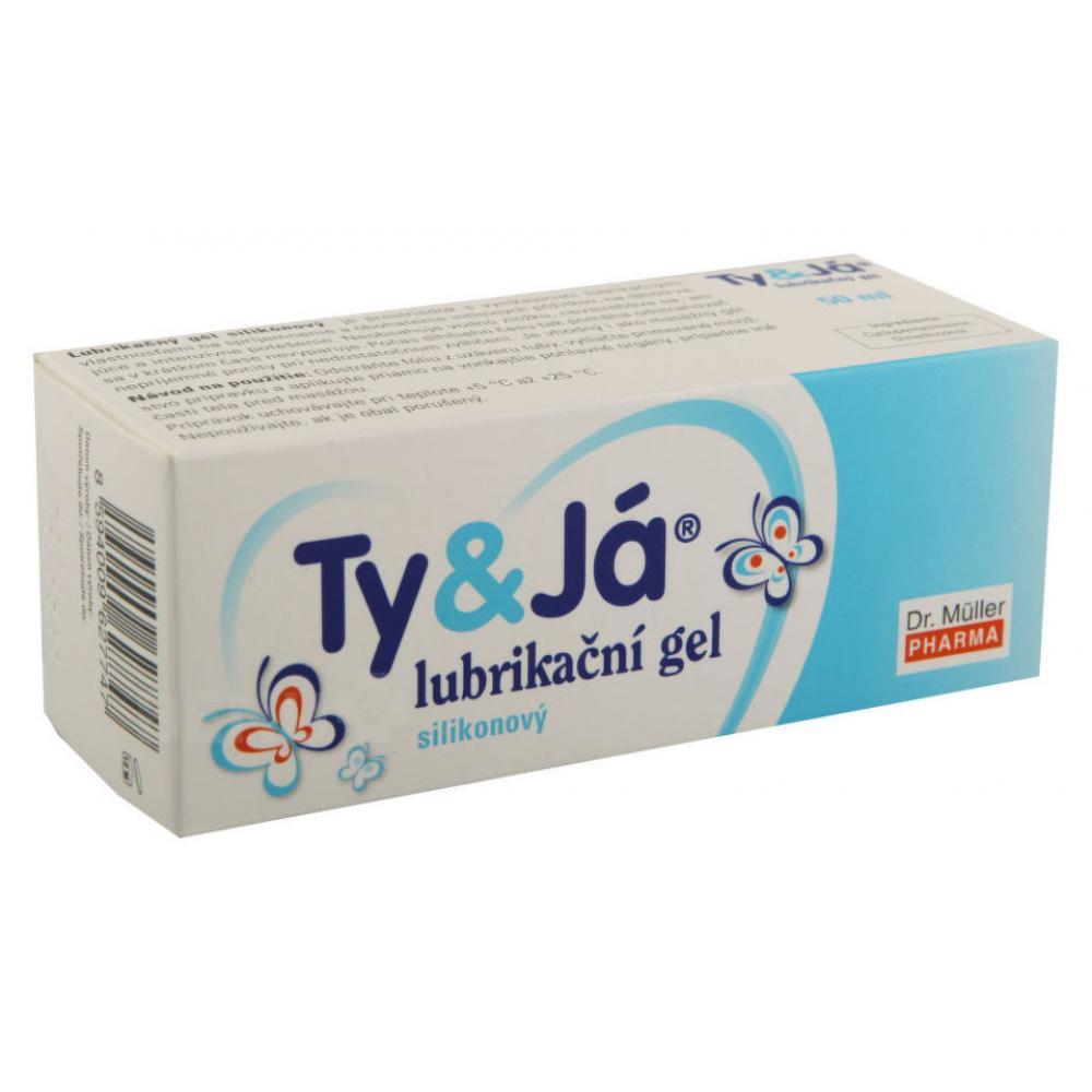 Lubrikační gel Ty a Já silikonový 50 ml
