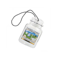 YANKEE CANDLE Luxusní visačka do auta Clean Cotton 1 ks