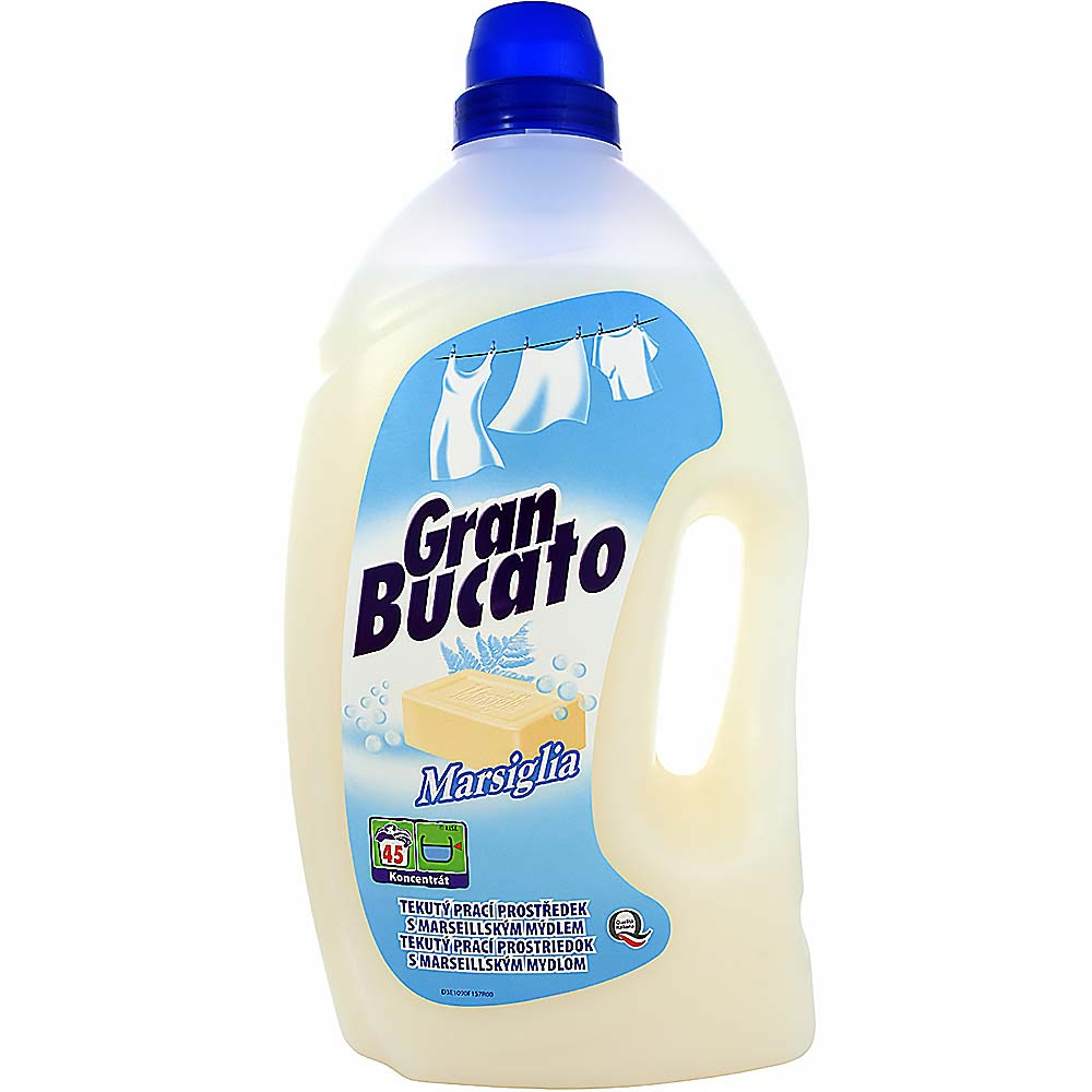MADEL GRAN BUCATO Marsiglia Prací gel 3000 ml