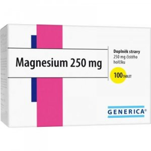 GENERICA Magnesium 250 mg 100 tablet