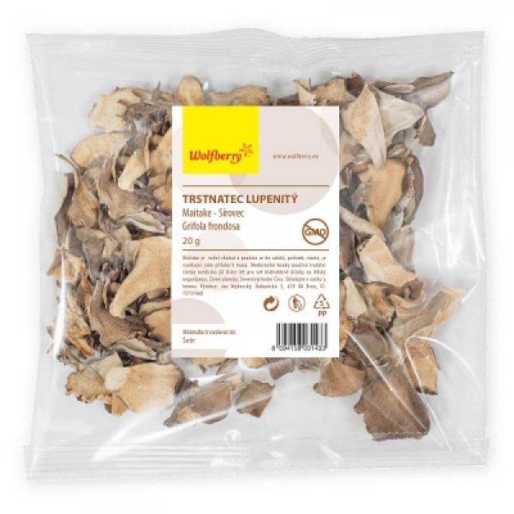 WOLFBERRY Trstnatec lupenitý (Maitake) 20 g