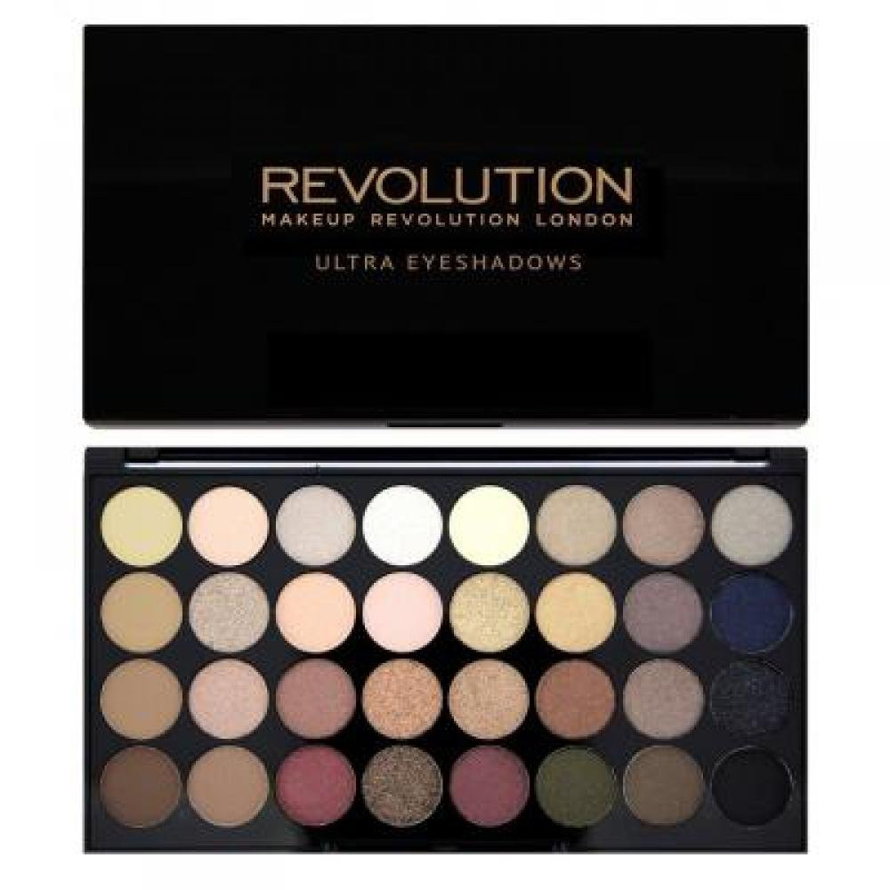 Makeup Revolution 32 Eyeshadow Palette Flawless paletka 32 očních stínů 16 g