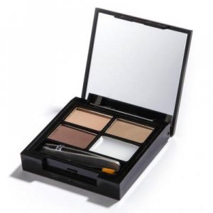 MAKEUP REVOLUTION LONDON Focus & Fix Brow Kit Light Medium - sada pro úpravu obočí 5.8g
