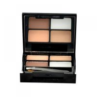 MAKEUP REVOLUTION LONDON Focus & Fix Eyebrow Shaping Kit 5,8g Set pro úpravu obočí Medium Dark