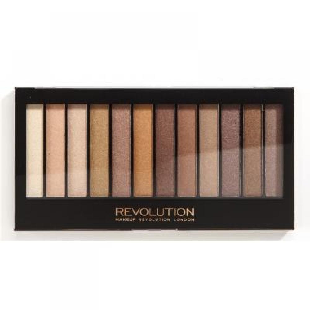 Makeup Revolution Redemption Palette Essential Shimmers paletka očních stínů 14 g