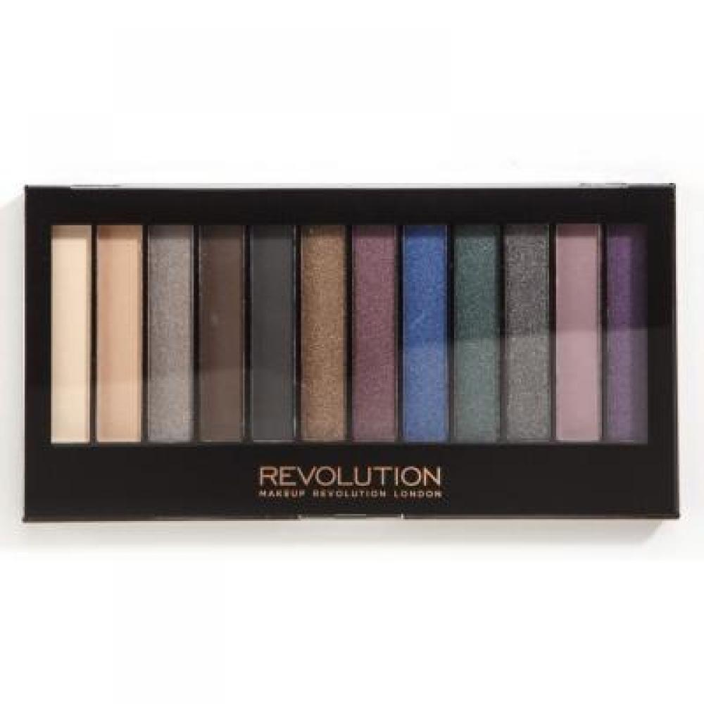 Makeup Revolution Redemption Palette Hot Smoked paletka očních stínů 14 g