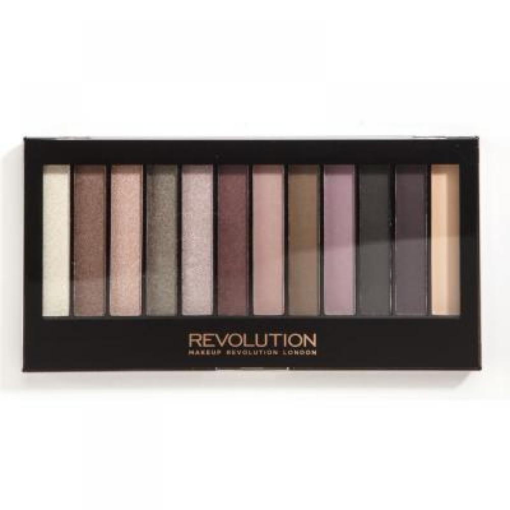 Makeup Revolution Redemption Palette Romantic Smoked paletka očních stínů 14 g