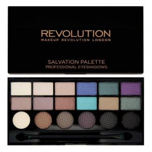 Makeup Revolution Salvation Palette Welcome to the Pleasuredome - paletka 18 stínů (12 lesk+6 mat)
