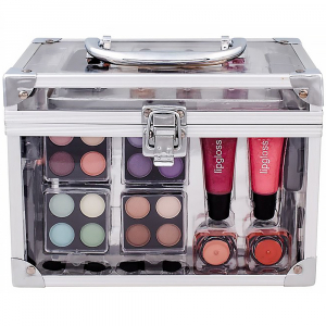 MAKEUP TRADING Schmink Set Transparent  64,8 Complet Make Up Palette Kazeta dekorativní kosmetiky