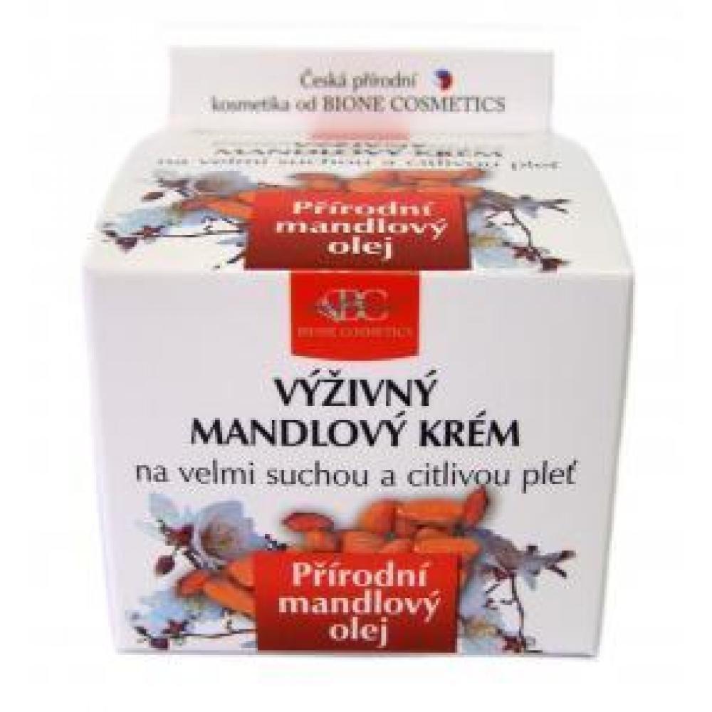 MANDLE výživný pleťový krém suchá a citlivá pleť 51 ml