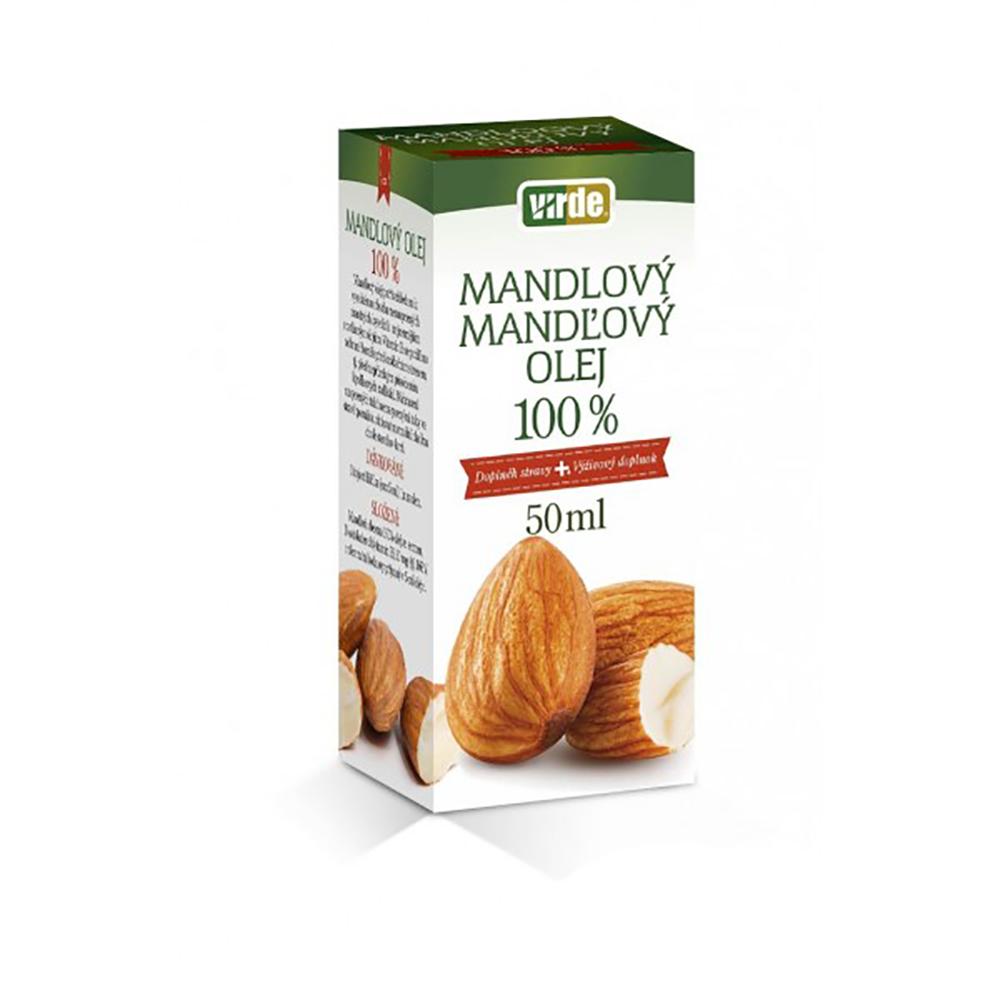 VIRDE Mandlový olej 100% 50 ml