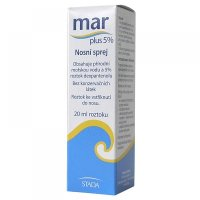 MAR Plus 5% Nosní sprej 20 ml