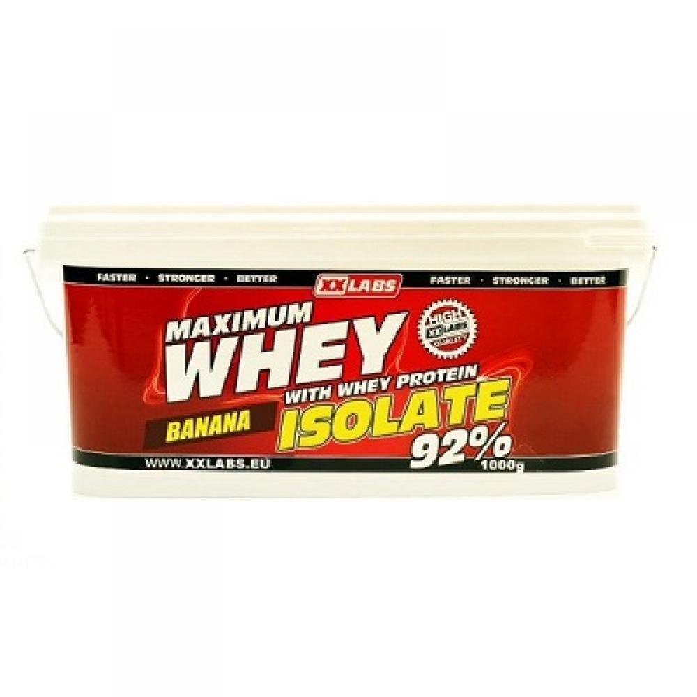 XXLABS Maximum Whey Protein Isolate banánový 1000 g