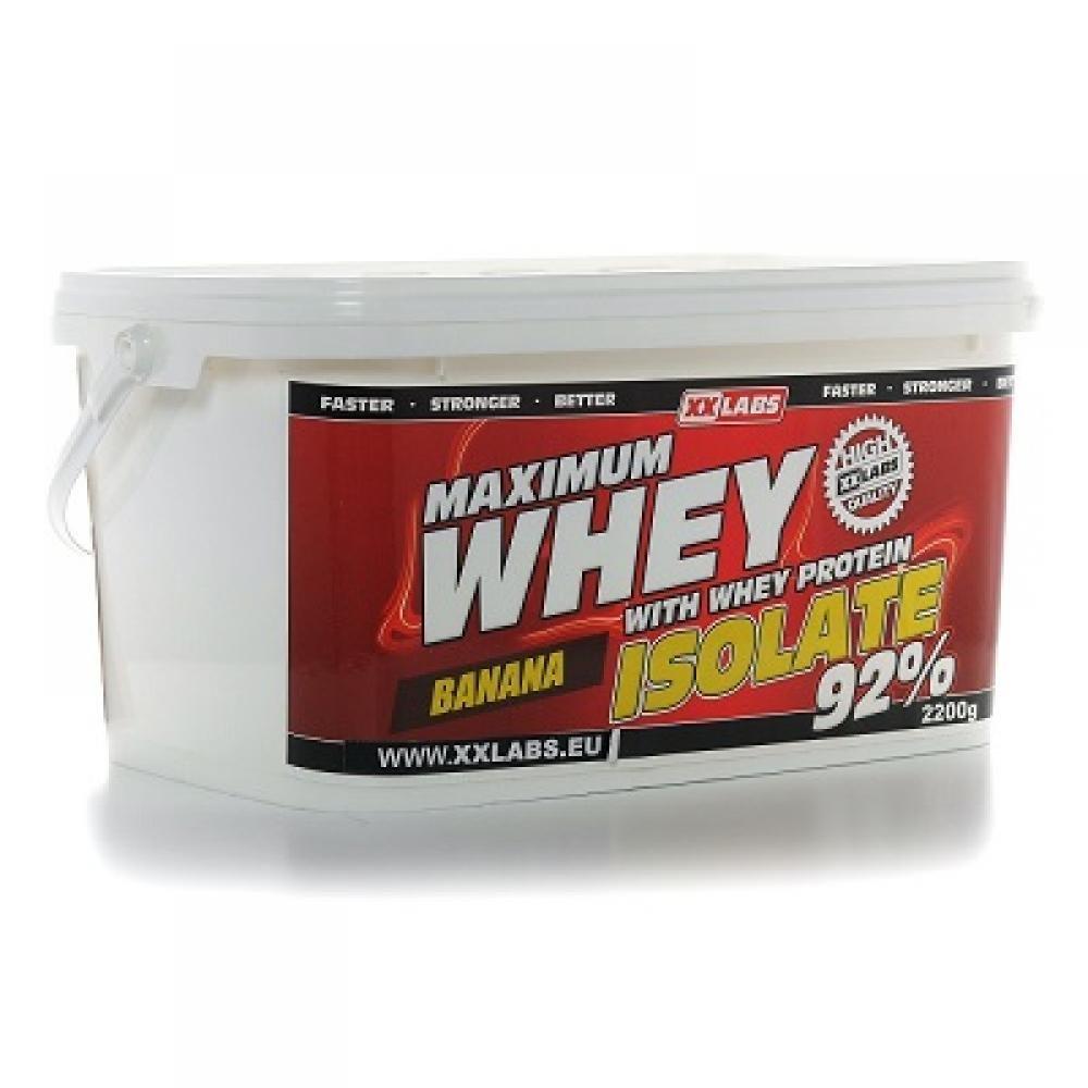 XXLABS Maximum Whey Protein Isolate banánový 2200 g