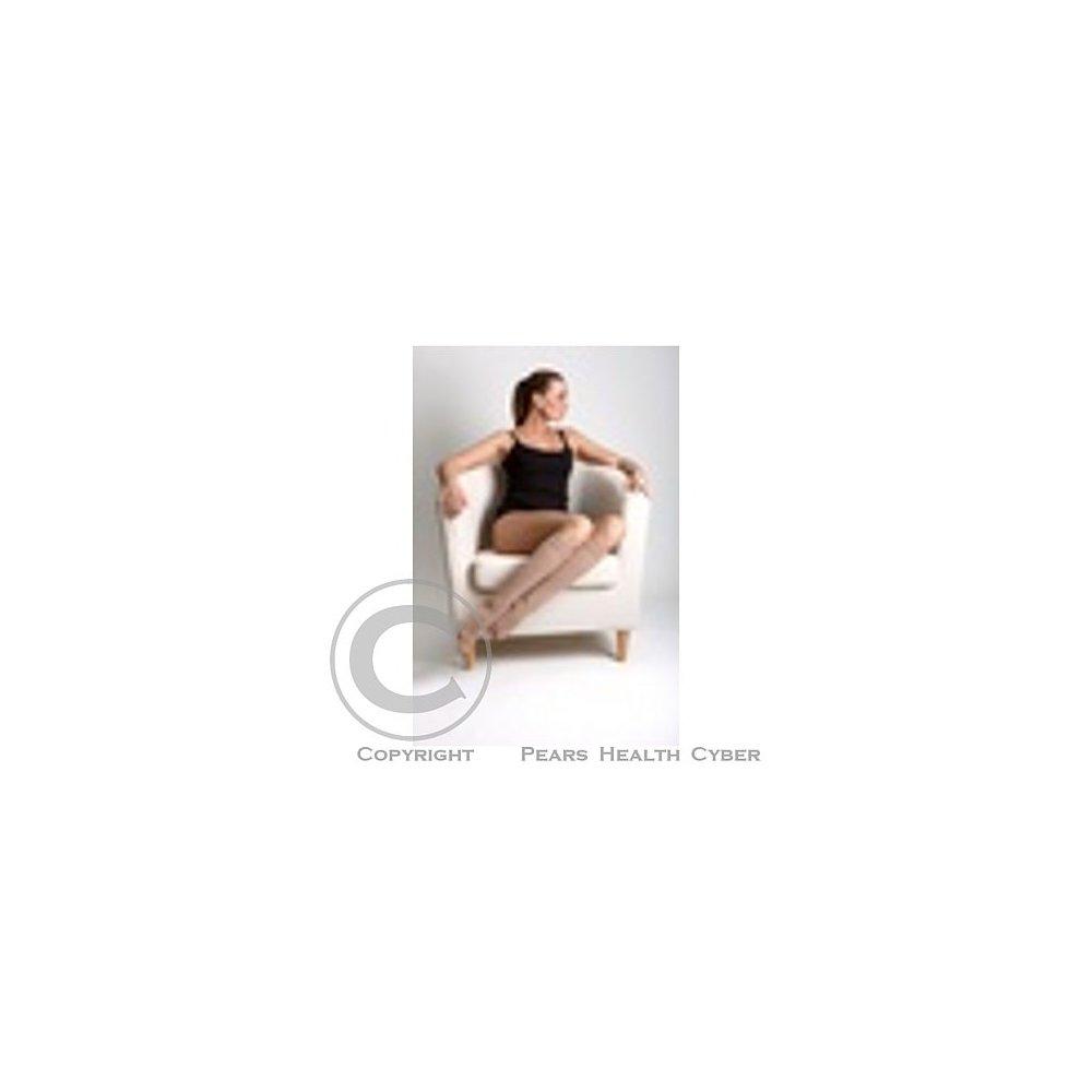 Maxis NEW COTTON lýtková punčocha velikost 8N,bronz se špicí