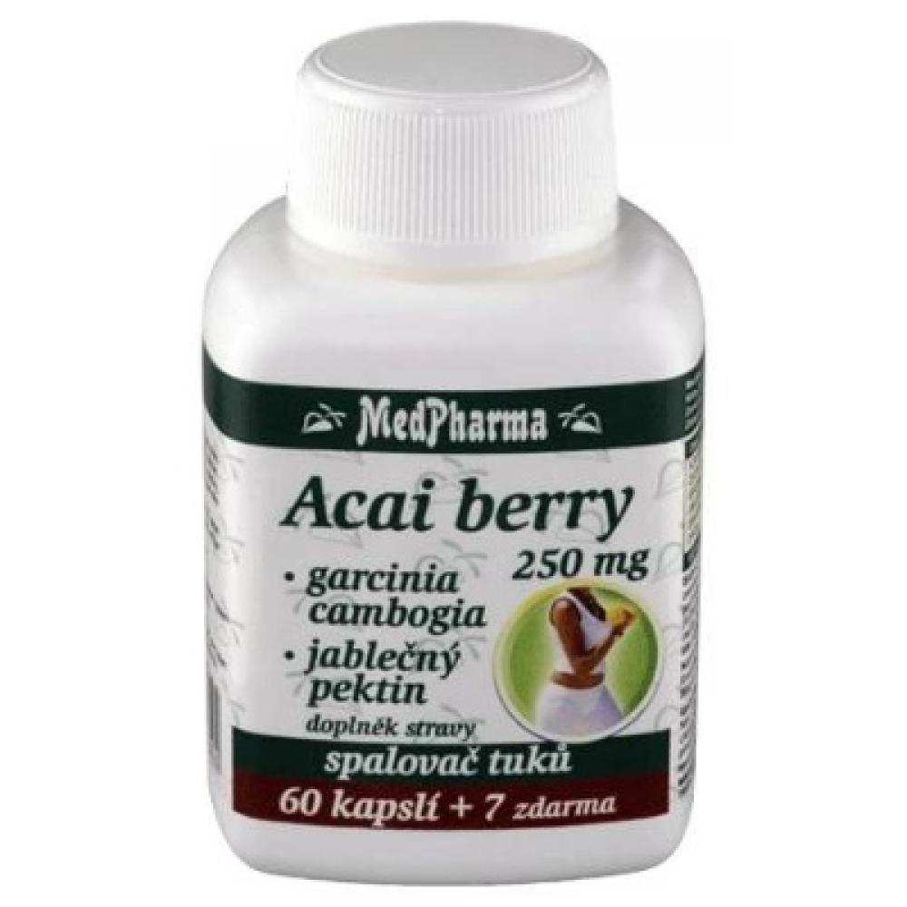 MedPharma Acai berry+garcinia spalovač tuků cps.67