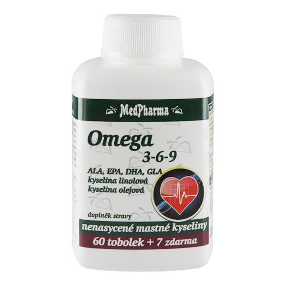 MEDPHARMA Omega 3-6-9 67 tobolek
