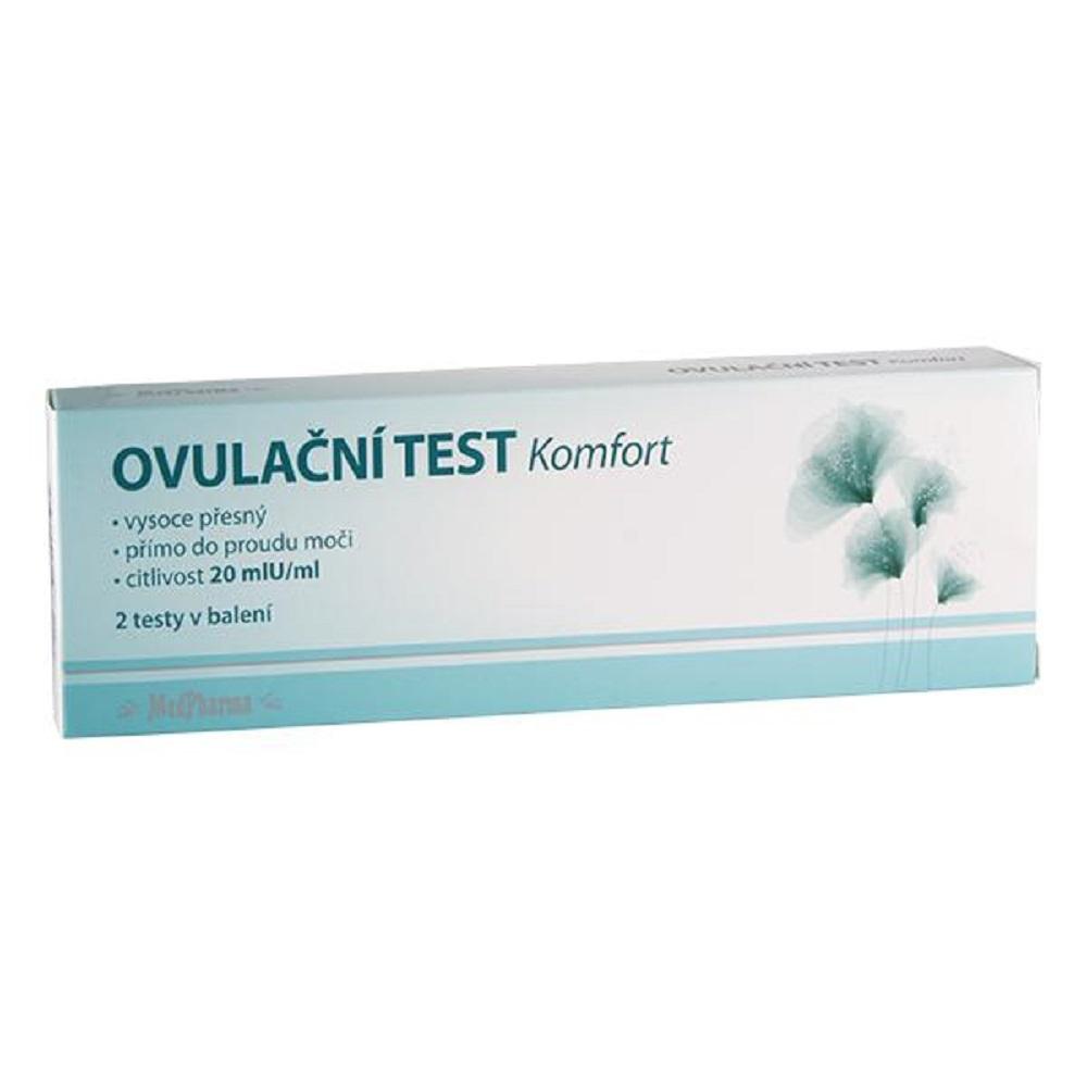 MEDPHARMA Ovulační test Komfort 20mlU/ml