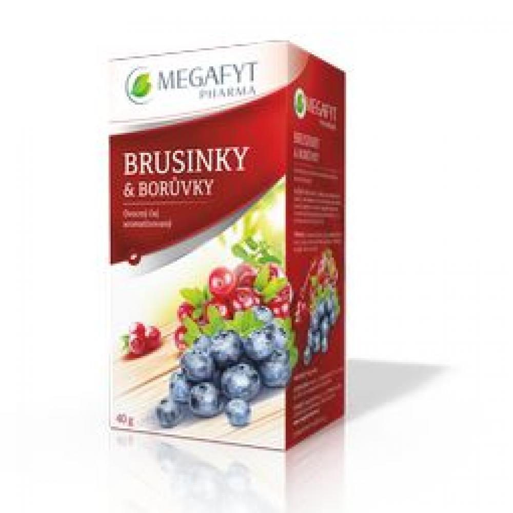 MEGAFYT Ovocný Brusinky & borůvky 20 x 2 g
