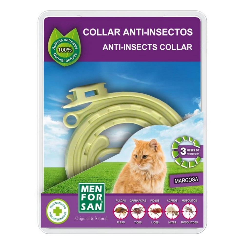 Menforsan Přírodní obojek pro kočky odpuzující klíšťata a blechy 30 cm