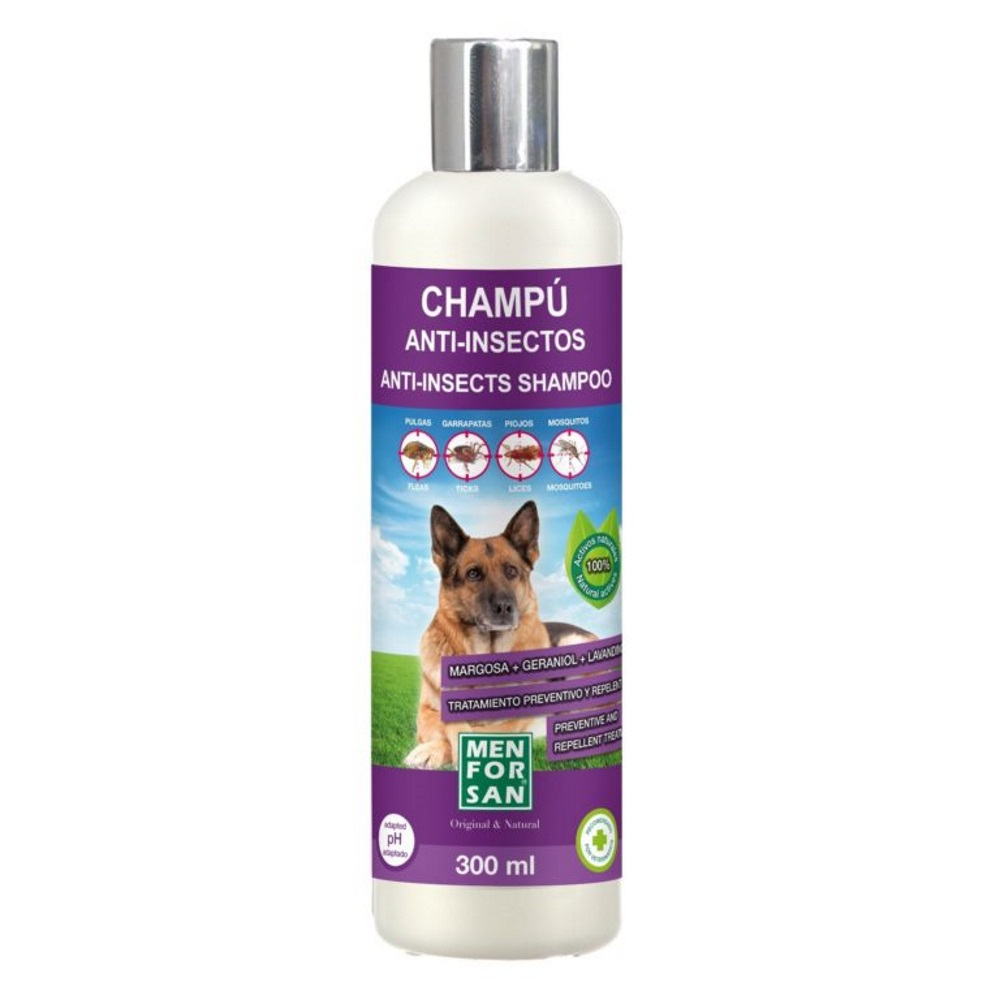 MENFORSAN Přírodní repelentní šampon pro psy s margózou 300 ml