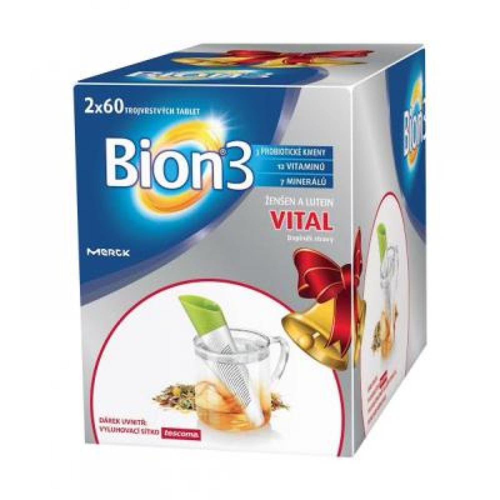 MERCK Bion3 Vital 2x60 tablet + DÁREK výprodej